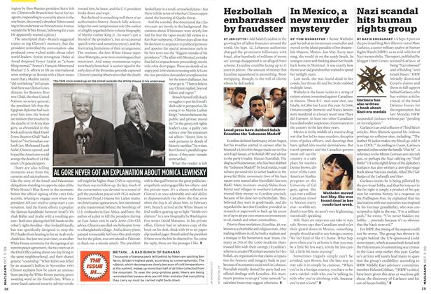 Article Preview: Nazi scandal hits human rights group, OCT. 5th 2009 2009 | Maclean's