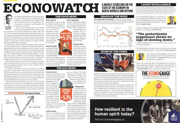 Article Preview: ECONOWATCH, OCT. 5th 2009 2009 | Maclean's
