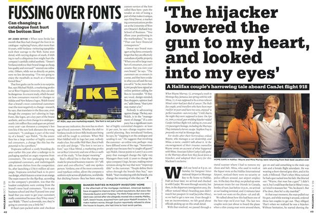 Article Preview: FUSSING OVER FONTS, OCT. 5th 2009 2009 | Maclean's