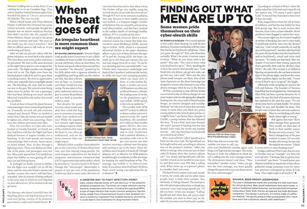 Article Preview: When the beat goes off, OCT. 5th 2009 2009 | Maclean's