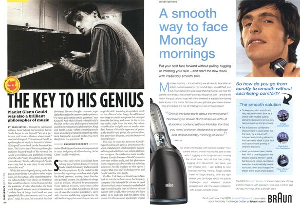 Article Preview: THE KEY TO HIS GENIUS, OCT. 5th 2009 2009 | Maclean's