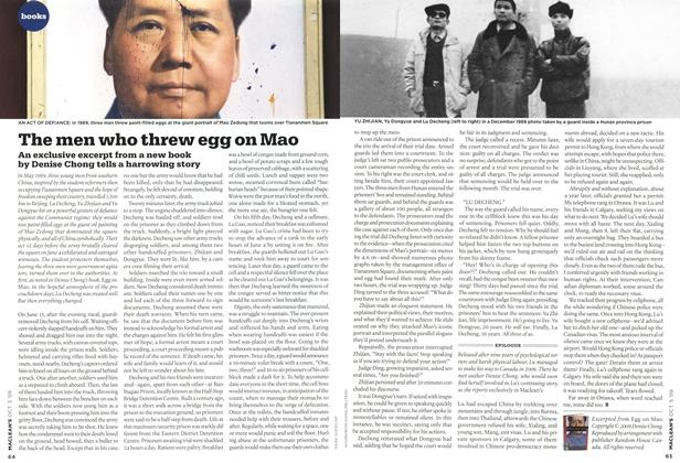 Article Preview: The men who threw egg on Mao, OCT. 5th 2009 2009 | Maclean's