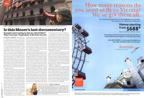 Article Preview: Is this Moore's last documentary?, OCT. 5th 2009 2009 | Maclean's