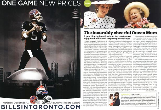 Article Preview: The incurably cheerful Queen Mum, OCT. 5th 2009 2009 | Maclean's