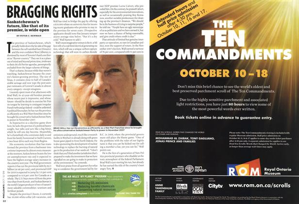 Article Preview: BRAGGING RIGHTS, OCT. 12th 2009 2009 | Maclean's