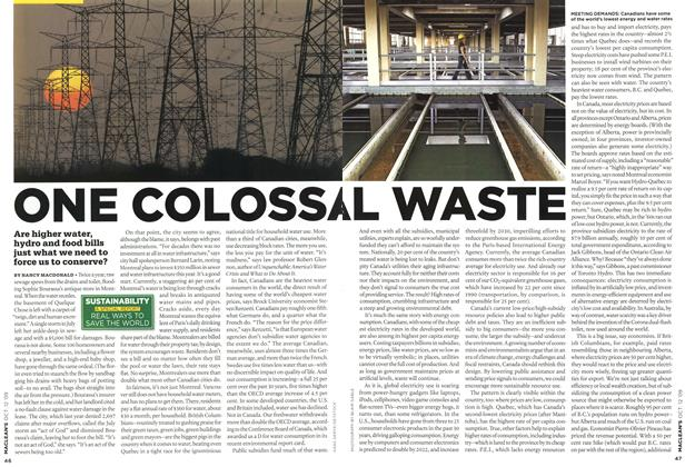 Article Preview: ONE COLOSSAL WASTE, OCT. 12th 2009 2009 | Maclean's