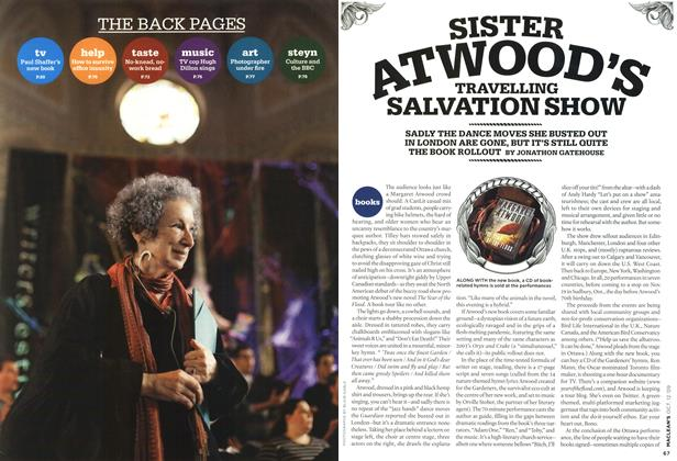 Article Preview: SISTER ATWOOD'S TRAVELLING SALVATION SHOW, OCT. 12th 2009 2009 | Maclean's