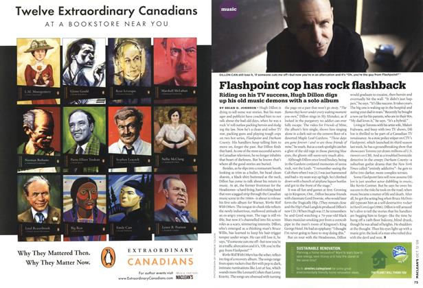 Article Preview: Flashpoint cop has rock flashback, OCT. 12th 2009 2009 | Maclean's