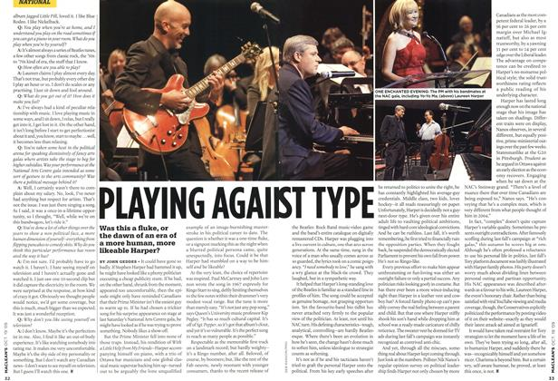 Article Preview: PLAYING AGAINST TYPE, OCT. 19th 2009 2009 | Maclean's