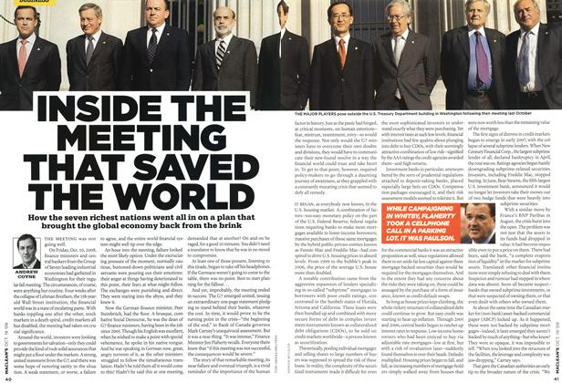 Article Preview: INSIDE THE MEETING THAT SAVED THE WORLD, OCT. 19th 2009 2009 | Maclean's