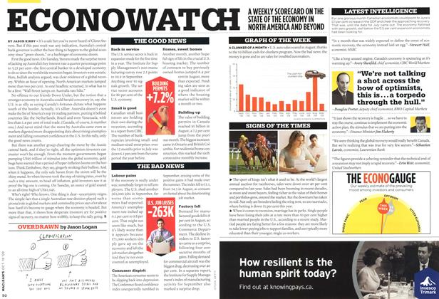 Article Preview: ECONOWATCH, OCT. 19th 2009 2009 | Maclean's