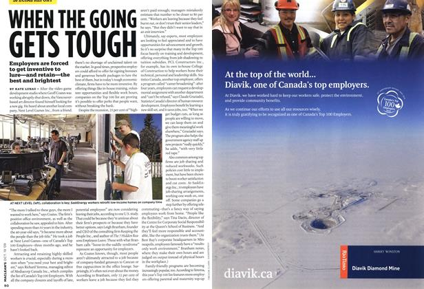 Article Preview: WHEN THE GOING GETS TOUGH, OCT. 19th 2009 2009 | Maclean's