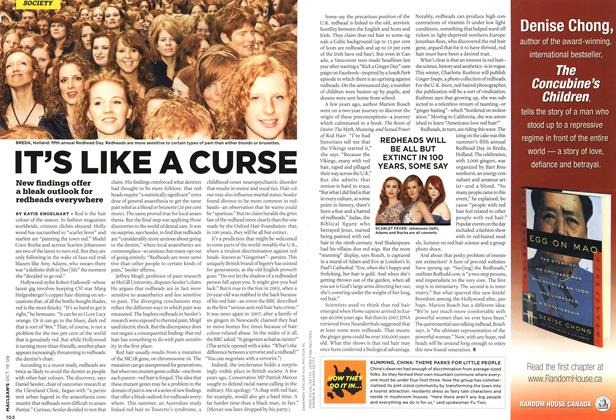 Article Preview: IT'S LIKE A CURSE, OCT. 19th 2009 2009 | Maclean's