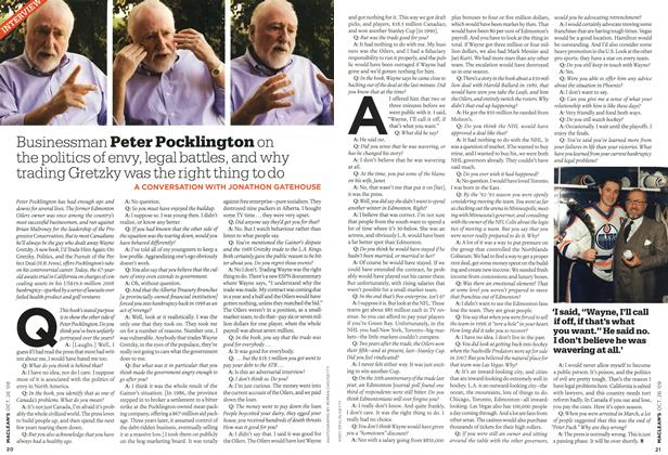 Article Preview: INTERVIEW, OCT. 26TH 2009 2009 | Maclean's