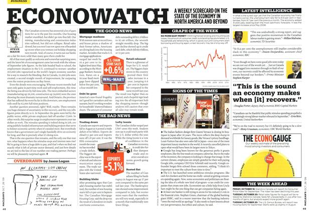 Article Preview: OVERDRAWN, OCT. 26TH 2009 2009 | Maclean's