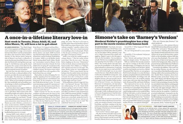 Article Preview: A once-in-a-lifetime literary love-in, OCT. 26TH 2009 2009 | Maclean's