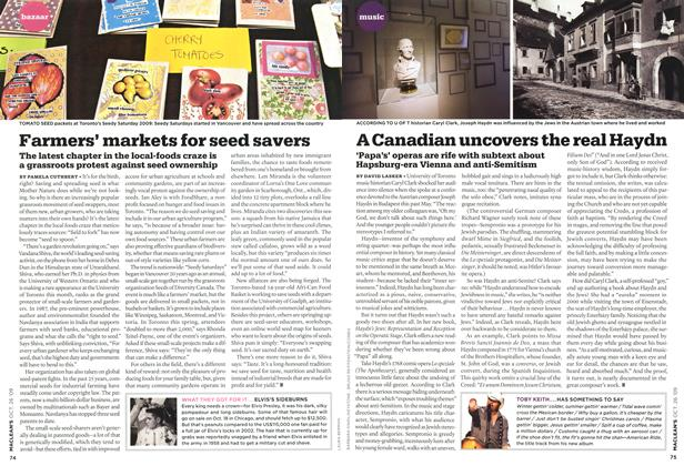 Article Preview: A Canadian uncovers the real Haydn, OCT. 26TH 2009 2009 | Maclean's