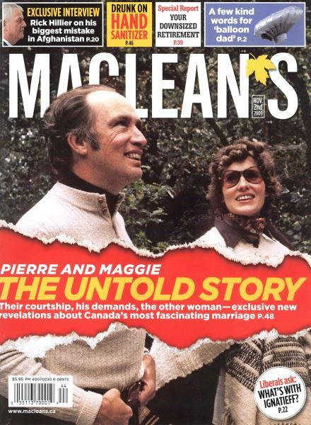 Issue: - NOV. 2nd 2009 | Maclean's