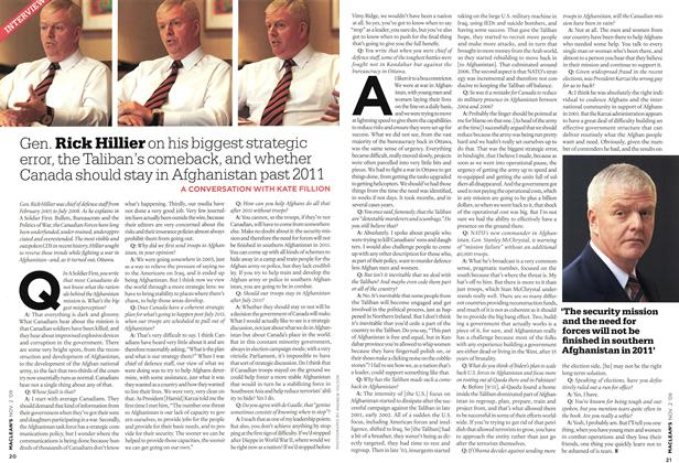 Article Preview: INTERVIEW, NOV. 2nd 2009 2009 | Maclean's