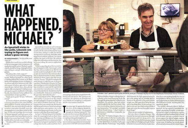 Article Preview: WHAT HAPPENED, MICHAEL?, NOV. 2nd 2009 2009 | Maclean's