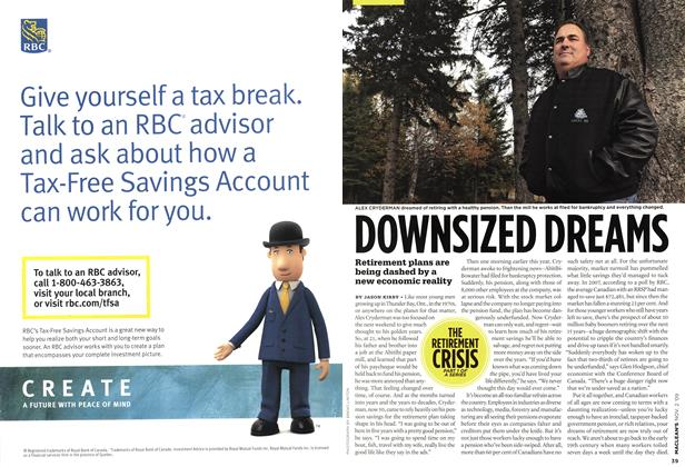 Article Preview: DOWNSIZED DREAMS, NOV. 2nd 2009 2009 | Maclean's