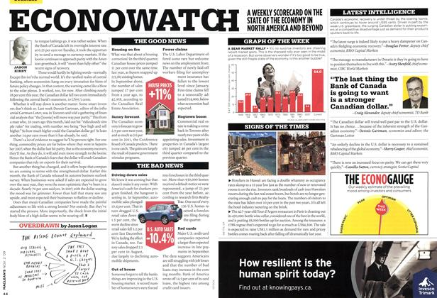 Article Preview: ECONOWATCH, NOV. 2nd 2009 2009 | Maclean's