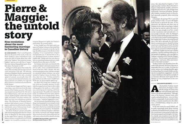 Article Preview: Pierre & Maggie: the untold story, NOV. 2nd 2009 2009 | Maclean's