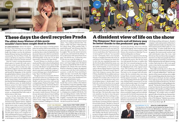 Article Preview: A dissident view of life on the show, NOV. 2nd 2009 2009 | Maclean's