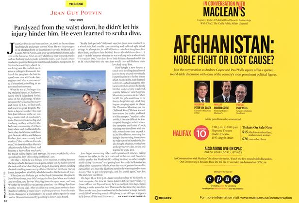 Article Preview: JEAN GUY POTVIN 1967-2009, NOV. 2nd 2009 2009 | Maclean's