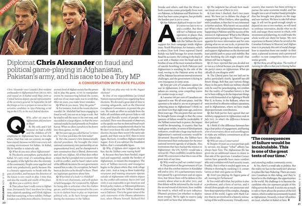 Article Preview: INTERVIEW, NOV. 9th 2009 2009 | Maclean's