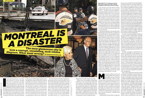 Article Preview: MONTREAL IS A DISASTER, NOV. 9th 2009 2009 | Maclean's
