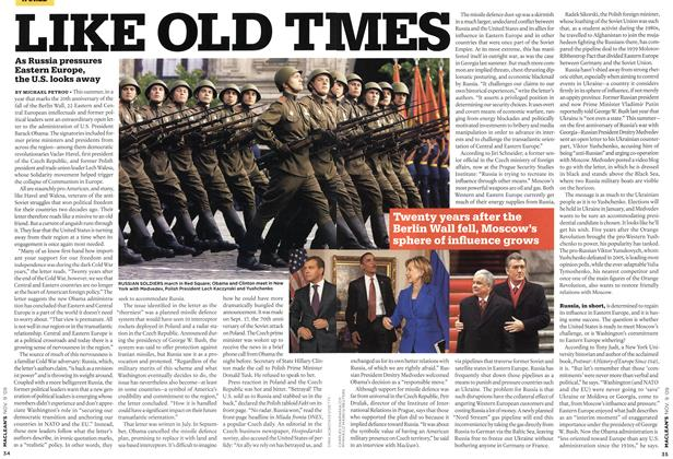 Article Preview: LIKE OLD Tl, NOV. 9th 2009 2009 | Maclean's