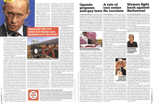 Article Preview: Uganda proposes anti-gay laws, NOV. 9th 2009 2009 | Maclean's