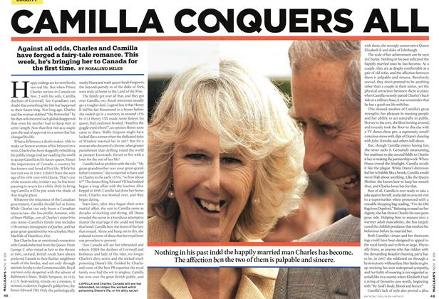 Article Preview: CAMILLA CANQUERS ALL, NOV. 9th 2009 2009 | Maclean's