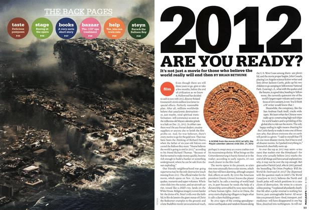 Article Preview: 2012 ARE YOU READY?, NOV. 9th 2009 2009 | Maclean's