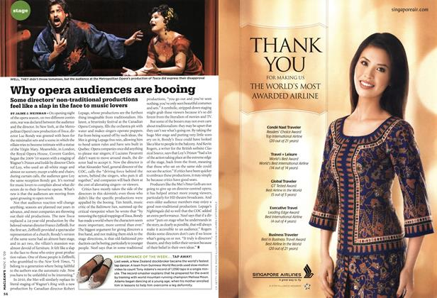 Article Preview: Why opera audiences are booing, NOV. 9th 2009 2009 | Maclean's