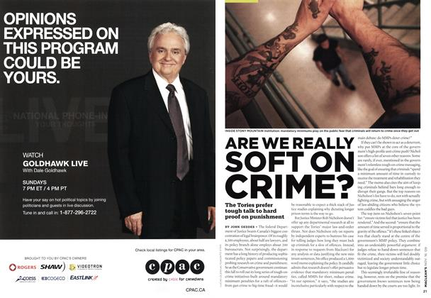 Article Preview: ARE WE REALLY SOFT ON CRIME?, NOV. 16th 2009 2009 | Maclean's