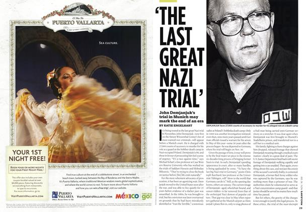 Article Preview: 'THE LAST GREAT NAZI TRIAL', NOV. 16th 2009 2009 | Maclean's