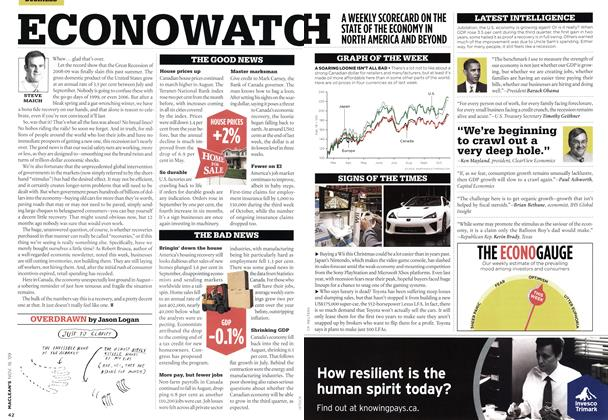 Article Preview: ECONOWATOH, NOV. 16th 2009 2009 | Maclean's