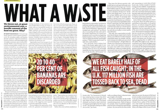 Article Preview: WHAT A WASTE, NOV. 16th 2009 2009 | Maclean's