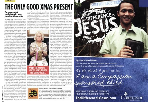 Article Preview: THE ONLY GOOD XMAS PRESENT, NOV. 16th 2009 2009 | Maclean's