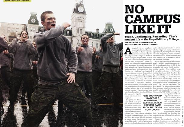 Article Preview: NO CAMPUS LIKE IT, NOV. 16th 2009 2009 | Maclean's