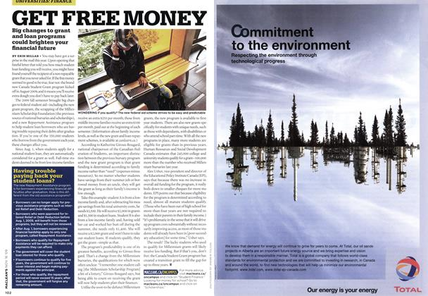 Article Preview: GET FREE MONEY, NOV. 16th 2009 2009 | Maclean's