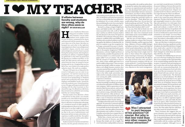 Article Preview: I♥ MY TEACHER, NOV. 16th 2009 2009 | Maclean's