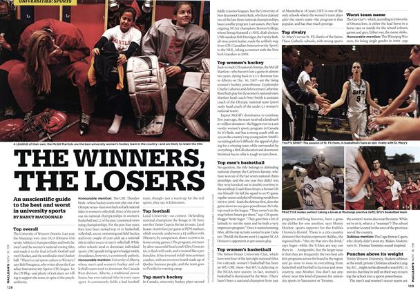 Article Preview: THE WINNERS, THE LOSERS, NOV. 16th 2009 2009 | Maclean's