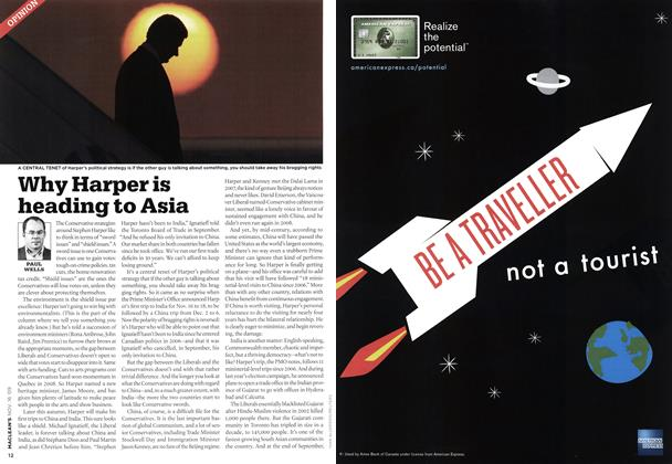 Article Preview: Why Harper is heading to Asia, NOV. 16th 2009 2009 | Maclean's