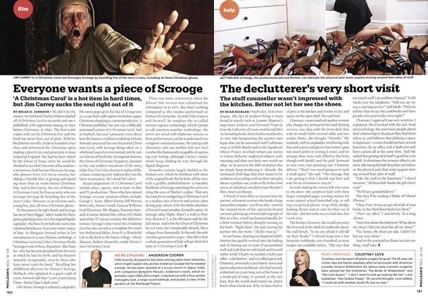 Article Preview: The declutterer's very short visit, NOV. 16th 2009 2009 | Maclean's