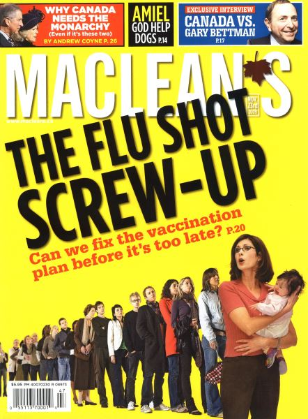 Issue: - NOV. 23rd 2009 | Maclean's
