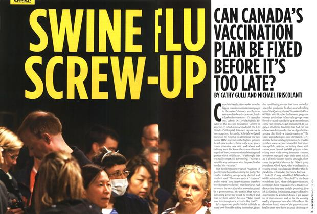 Article Preview: SWINE FLU SCREW-UP, NOV. 23rd 2009 2009 | Maclean's