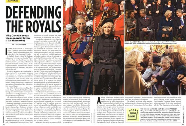 Article Preview: DEFENDING THE ROYALS, NOV. 23rd 2009 2009 | Maclean's